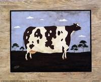 The Cow I Framed Print