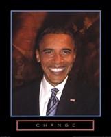 Obama - Change Fine Art Print
