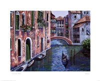 Gondola Ride Fine Art Print