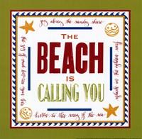 Beach Calling Fine Art Print
