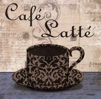 Cafe Latte Framed Print