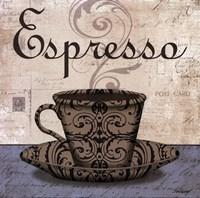 Expresso - petite Framed Print