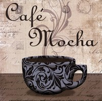"Cafe Mocha - petite by Todd Williams - 6"" x 6"""