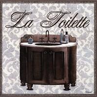 La Toilette Square Fine Art Print