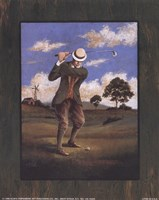Victorian Golfer - Man Fine Art Print
