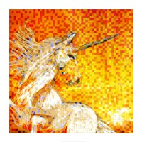 Unicorn Collage Fine Art Print