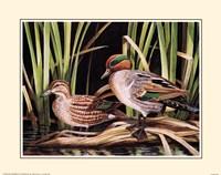 "Ducks by Leland Brewsaugh - 14"" x 11"", FulcrumGallery.com brand"