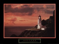 Success - Lighthouse Fine Art Print