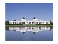 Building on the waterfront, Parliament House, Canberra, Australia - various sizes