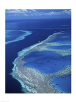 Hardy Reef, Great Barrier Reef, Whitsunday Island, Australia Fine Art Print