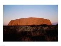 Ayers Rock Uluru-Kata Tjuta National Park Australia Fine Art Print