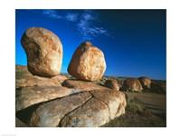Rocks on an arid landscape, Devil's Marbles, Northern Territory, Australia - various sizes, FulcrumGallery.com brand