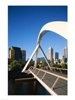 Close-up of a bridge, Melbourne, Australia - various sizes