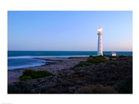 Lighthouse on the coast, Point Lowly Lighthouse, Whyalla, Australia - various sizes