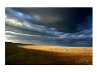 Storm clouds over a landscape, Eyre Peninsula, Australia - various sizes - $29.99