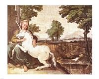 Domenichino Unicorn Pal Farnese - various sizes