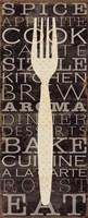 Kitchen Words I Fine Art Print