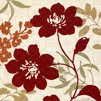 "Floral Shadows II by Lisa Audit - 12"" x 12"""