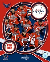 Washington Capitals 2011-12 Team Composite Fine Art Print