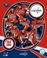 "Washington Capitals 2011-12 Team Composite - 8"" x 10"""