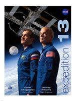 Expedition 13 Crew Poster - various sizes