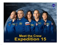 Expedition 15 Crew Poster - various sizes