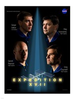 Expedition 17 Crew Poster - various sizes