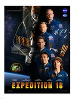 Expedition 18 Crew Poster - various sizes