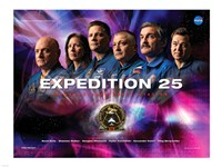 Expedition 25 Mission Poster - various sizes