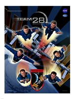 Expedition 28 Supermen Crew Poster - various sizes