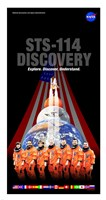 STS 114 Mission Poster - various sizes
