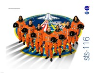 STS 116 Mission Poster - various sizes