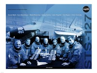 STS 127 Mission Poster Fine Art Print