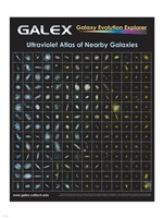 Ultraviolet Atlas of Nearby Galaxies Poster Fine Art Print