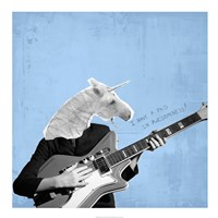 Awesome Unicorn Fine Art Print
