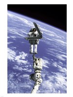 Astronaut Repairing Module - various sizes, FulcrumGallery.com brand