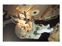 Astronaut Sellers Working on ISS - various sizes, FulcrumGallery.com brand