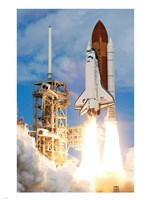 Atlantis Launch Fine Art Print
