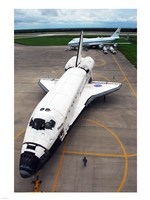 Atlantis STS117 Towed - various sizes, FulcrumGallery.com brand