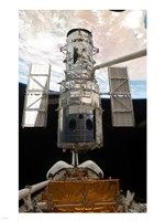 Atlantis STS Releasing ISS Module - various sizes, FulcrumGallery.com brand