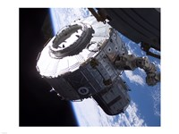 ISS Quest Module Instalation of International Space Station - various sizes
