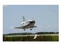 NASA Space Shuttle Atlantis Landing Fine Art Print