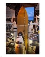 STS-135 Atlantis rollout Fine Art Print