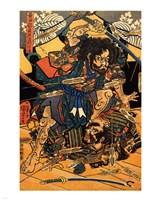 Hasebe Nobutsura during the Taira Attack - various sizes