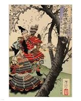 Yoshitsune with Benkei Fine Art Print