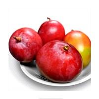 Mangoes In a White Bowl Fine Art Print