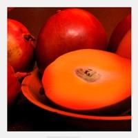 Orange Mangoes Fine Art Print