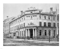 Bank of British North America 1867 Toronto Fine Art Print