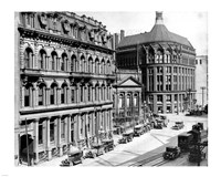 North side of Front Street 1930 Fine Art Print