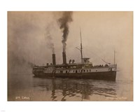 Steamer Cibola - launched in 1887 - various sizes